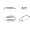 Светодиодный светильник FLA 200A-90-750-WL