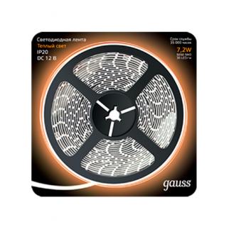 Светодиодная лента Gauss Black 5050/30-SMD